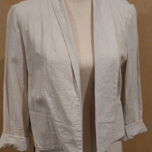 Old Navy linen crop jacket